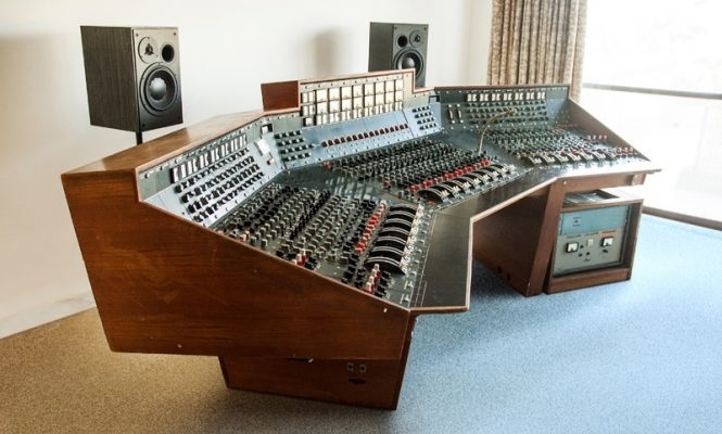 Pink Floyd's <em>Dark Side Of The Moon</em> recording console to be sold at auction