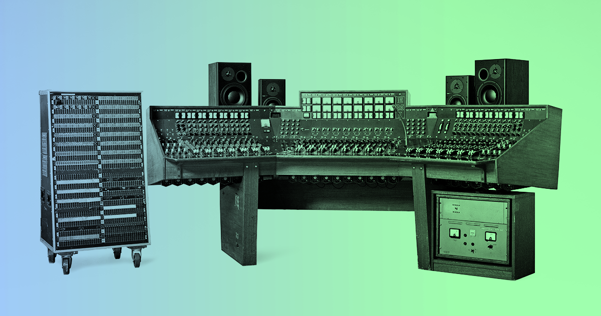 How Pink Floyd's recording console become the most expensive