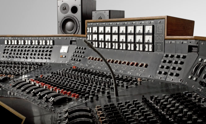Pink Floyd's <em>Dark Side of the Moon</em> recording console will be used to make music again