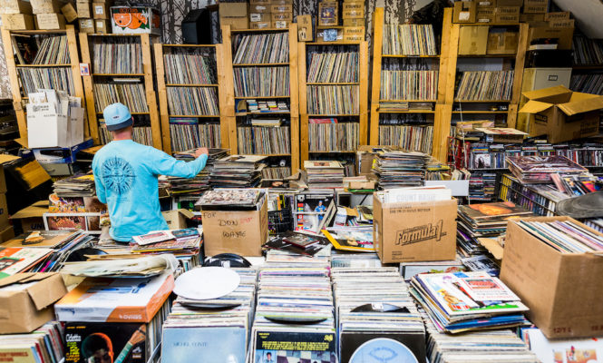 Watch the world's first TED talk on the culture of record digging