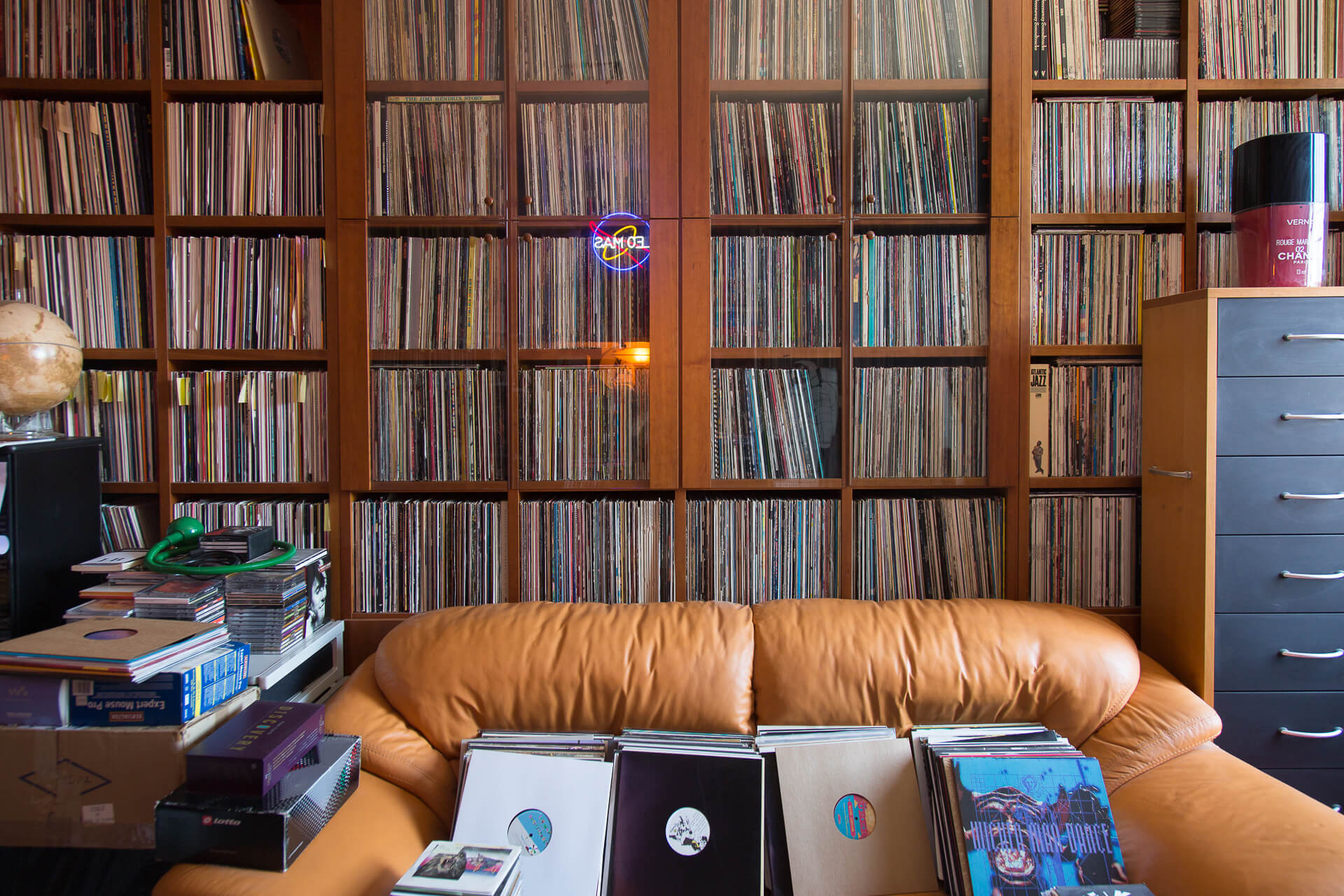 Crate Diggers: Inside Balearic legend Leo Mas' record collection