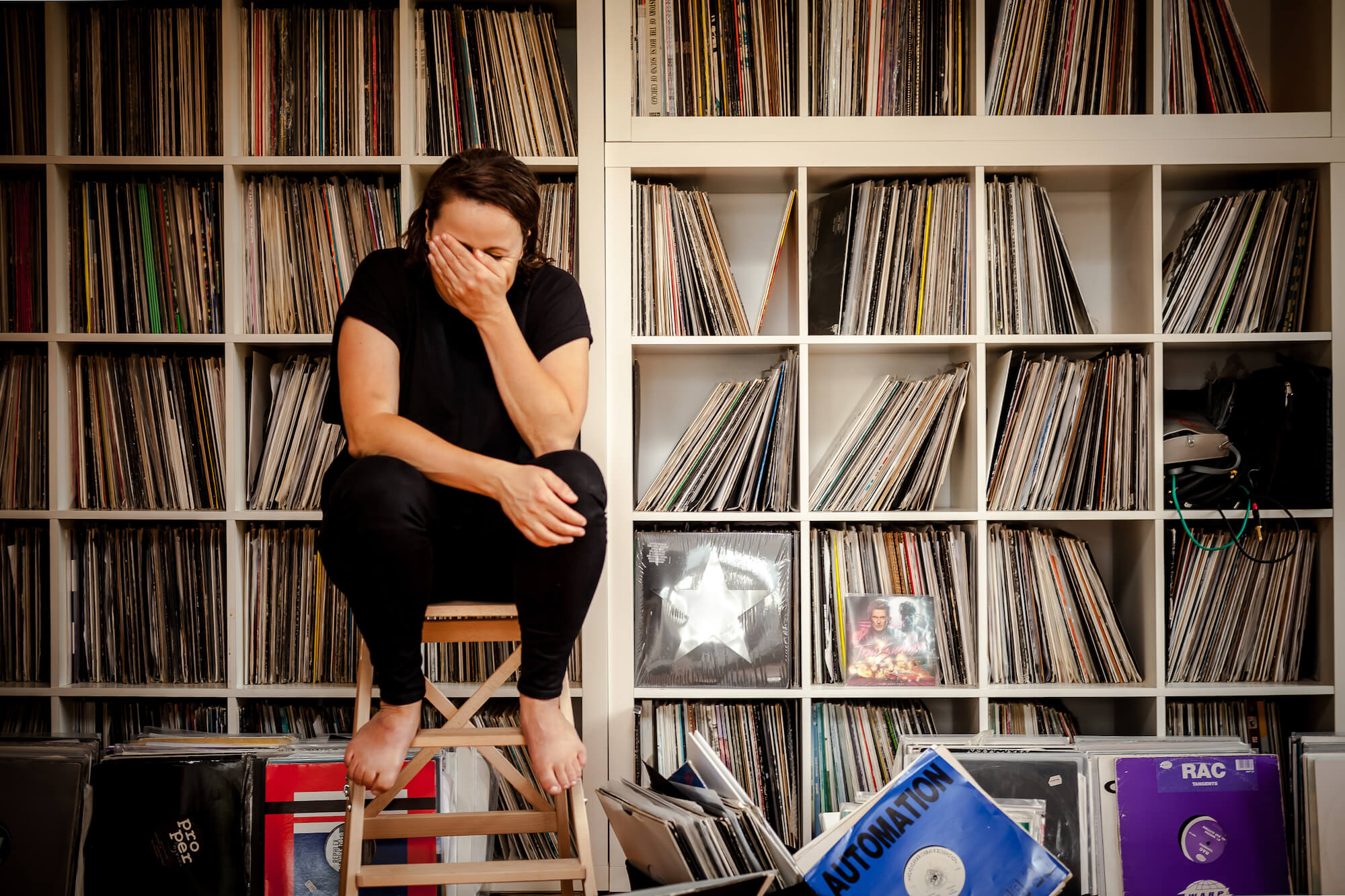 Crate Diggers Inside Steffi S Stunning Record Collection