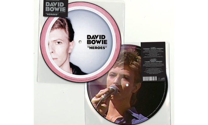 "David Bowie's 'Heroes' announced as latest, limited-edition 7"" picture disc single"