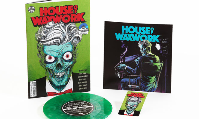 """Waxwork Records release new comic book series with exclusive coloured 7"""""""