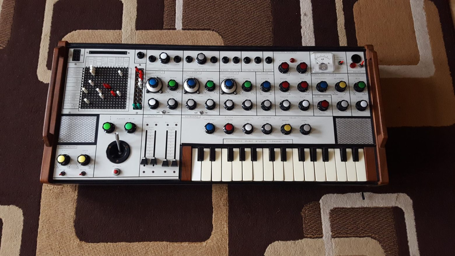One Of Electronic Music History S Rarest Synths Has Been