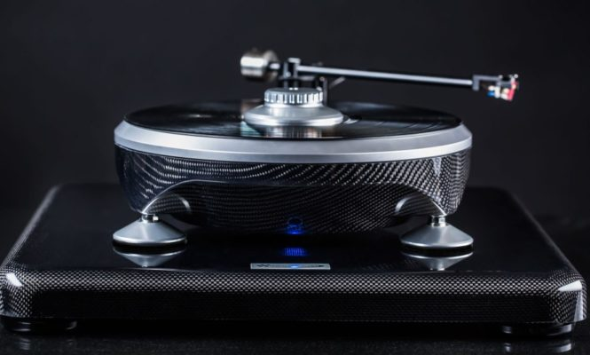 This new Grand Prix Audio turntable is inspired by a Formula 1 race car