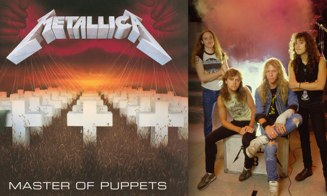 Metallica releasing <em>Master of Puppets</em> deluxe limited edition 3xLP boxset