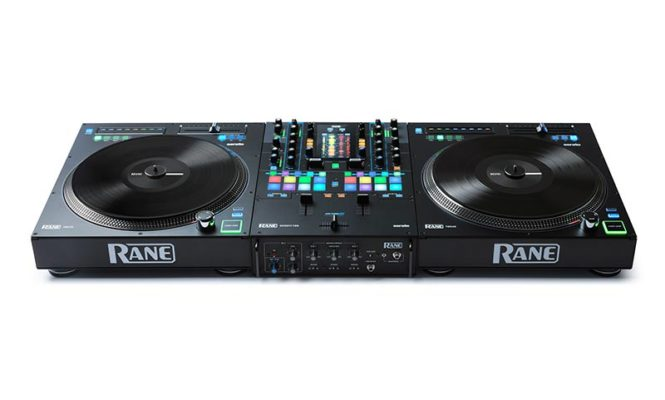 Rane is releasing a new mixer and tone-arm-less turntables