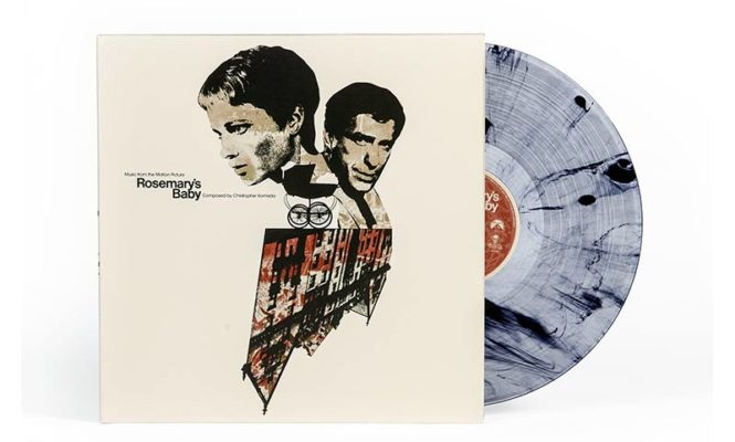 "<em>Rosemary's Baby</em> film score repressed on deluxe ""ritual smoke"" vinyl"