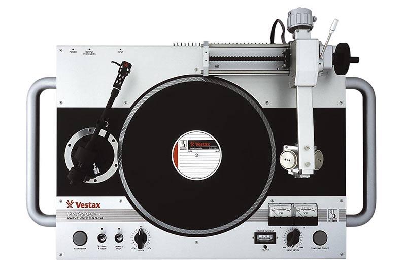 A Rare Vestax Vrx 2000 Vinyl Recorder Is Up For Sale On Ebay