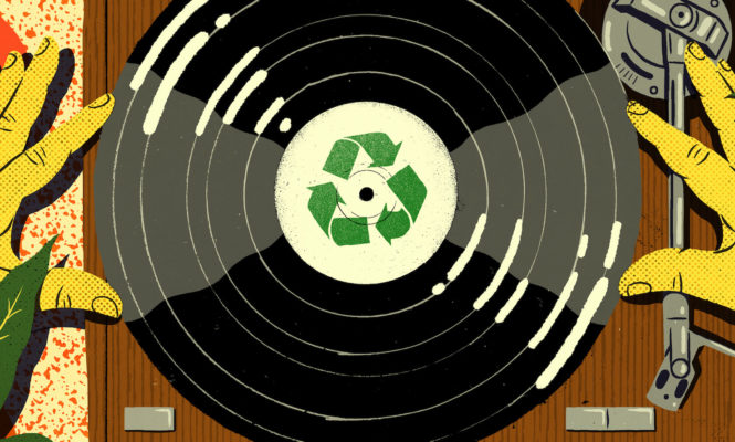 How to create a sustainable future for vinyl
