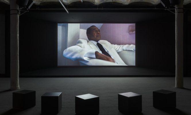 Kahlil Joseph&#8217;s new <em>Fly Paper</em> installation pays homage to Harlem music past and present