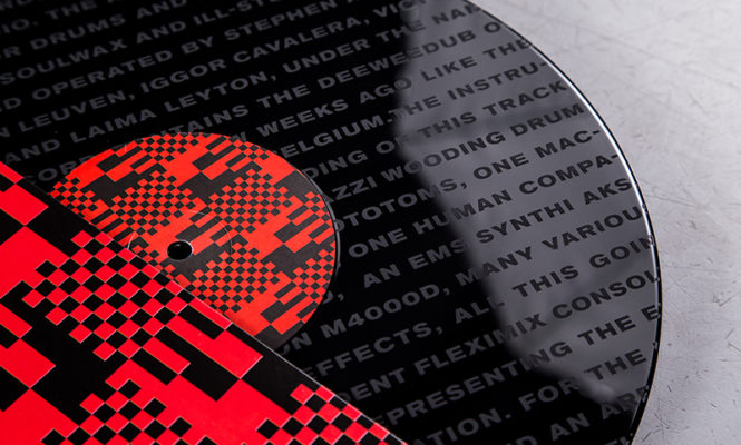 """Soulwax release new DEEWEEDUB version of 'Is It Always Binary' on limited etched 12"""""""