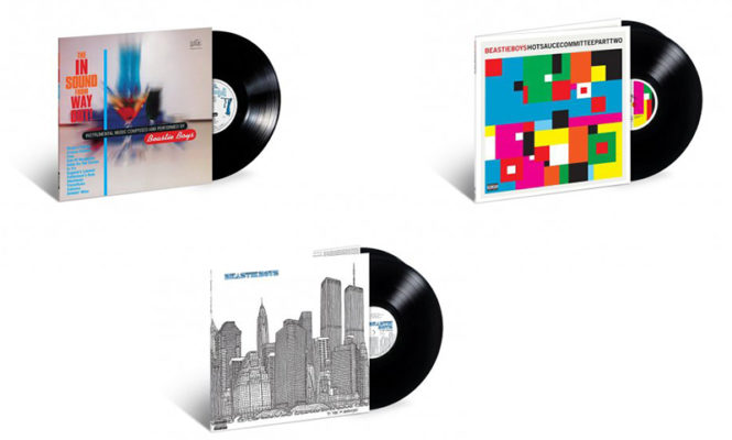 Three Beastie Boys LPs reissued on vinyl for the first time