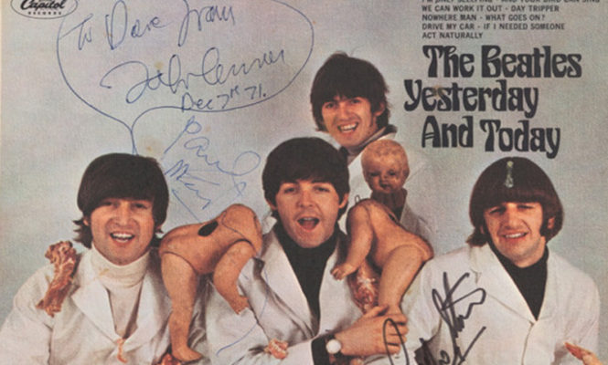 One of the world's rarest records is being sold at huge Beatles auction