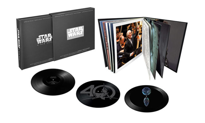 <em>Star Wars: Episode IV</em> limited edition 3xLP 40th anniversary box set released