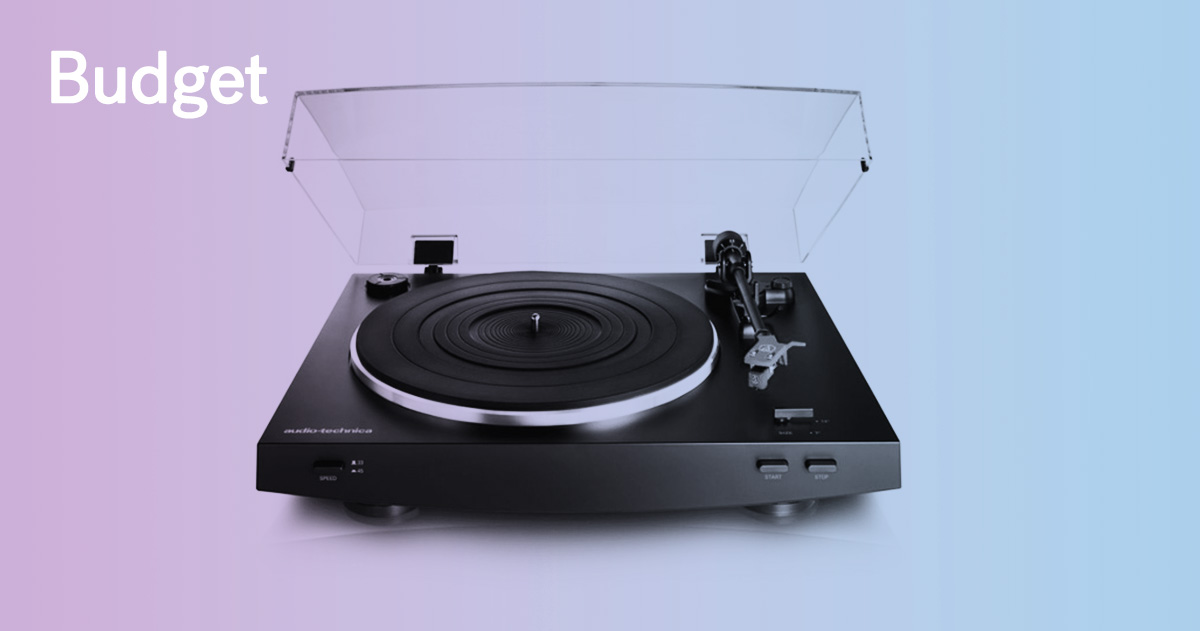 Incroyable TOP BUDGET TURNTABLES