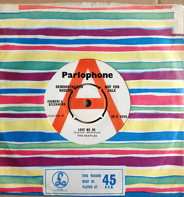 "Rare Beatles promo 7"" becomes most expensive single ever sold on"