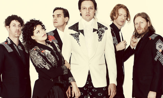 """Arcade Fire releasing two new 12""""s on limited edition coloured vinyl"""
