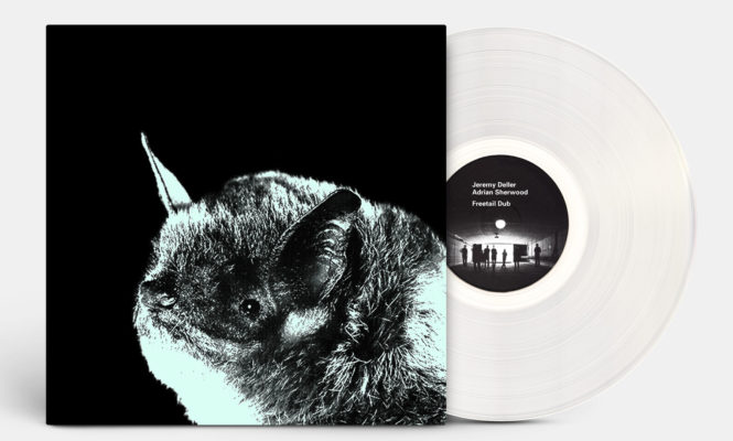 Jeremy Deller collaborates with Adrian Sherwood to sample bat frequencies for 'Freetail Dub' vinyl release