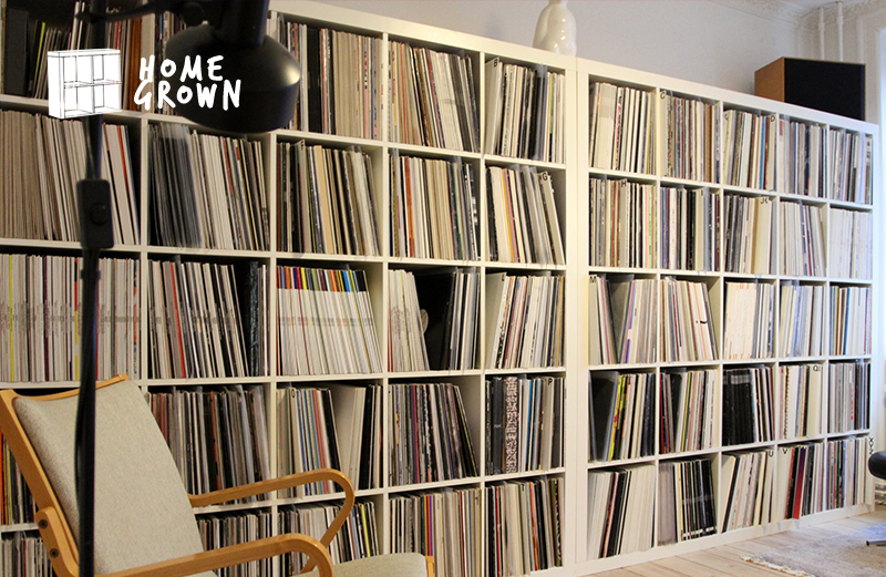 Home Grown: The collector with 5,000 records organised by label and