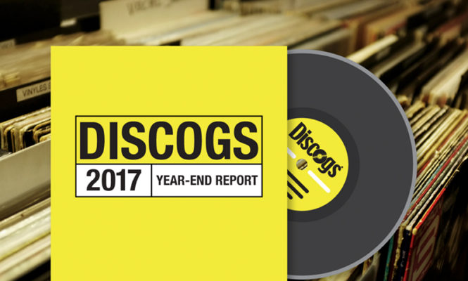 Nearly 8 million records were sold on Discogs in 2017