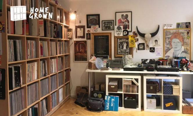 Home Grown: The 7″s collector with more gig posters than wall space