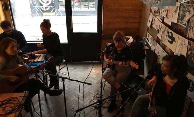 Listen to a gorgeous live session by dream pop quartet Marine