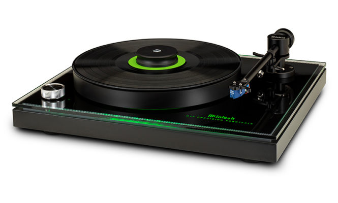 McIntosh launches 'more affordable' precision turntable
