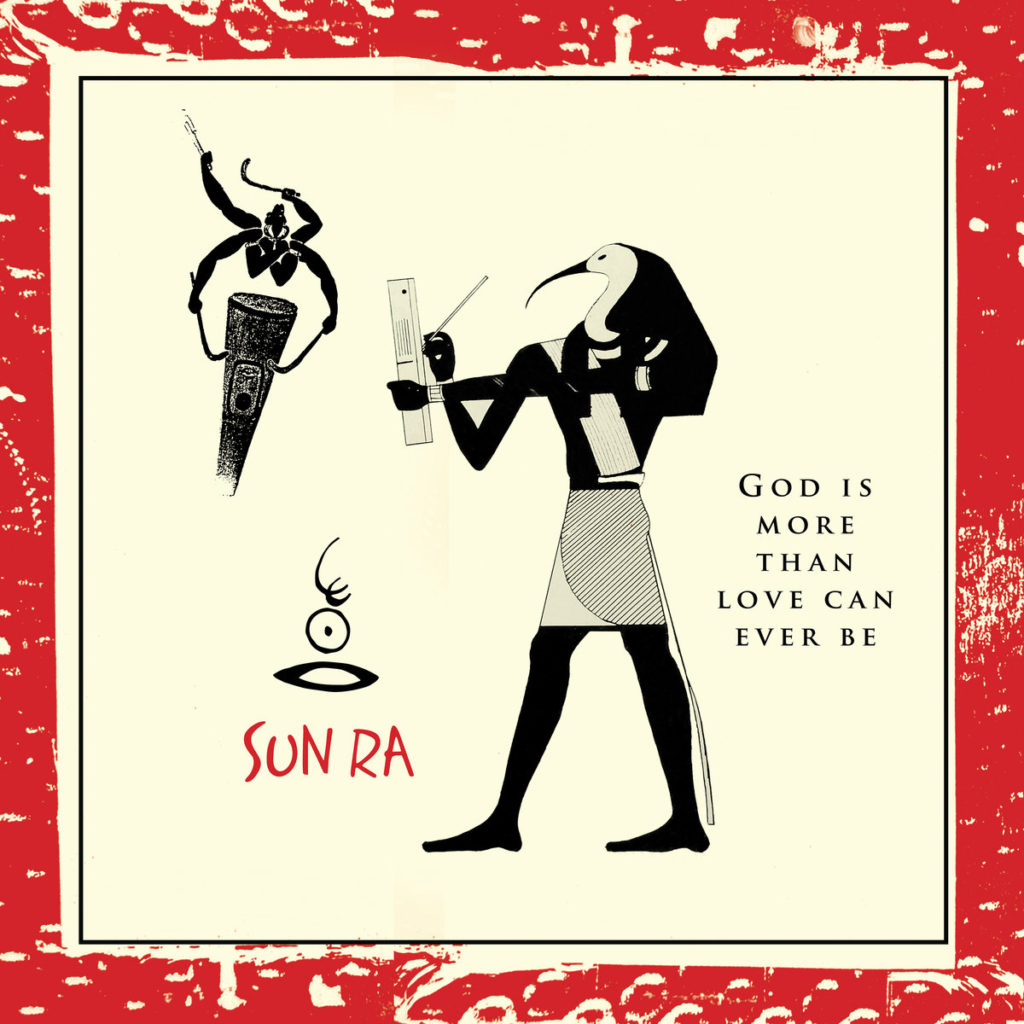Elusive Sun Ra Trio Lp God Is More Than Love Can Ever Be