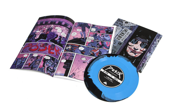 "Waxwork debuts new ""punk horror comic"" and 7″ series"