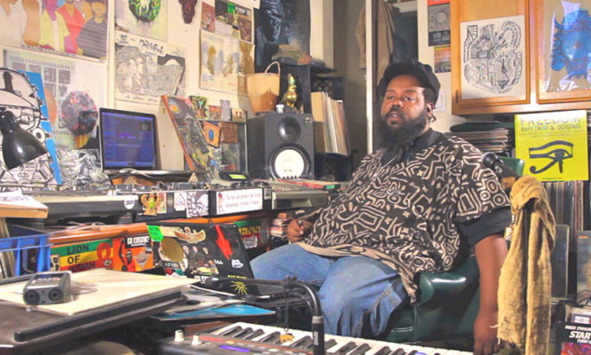 """Afro-futurist hip-hop producer Ras G producer creates an """"astral ode to woman"""" in new LP"""