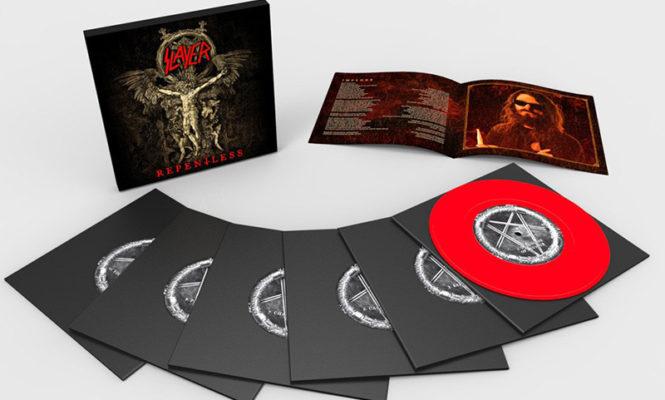 Metal legends Slayer releasing final LP <em>Repentless</em> as 6.66&#8243; vinyl box set