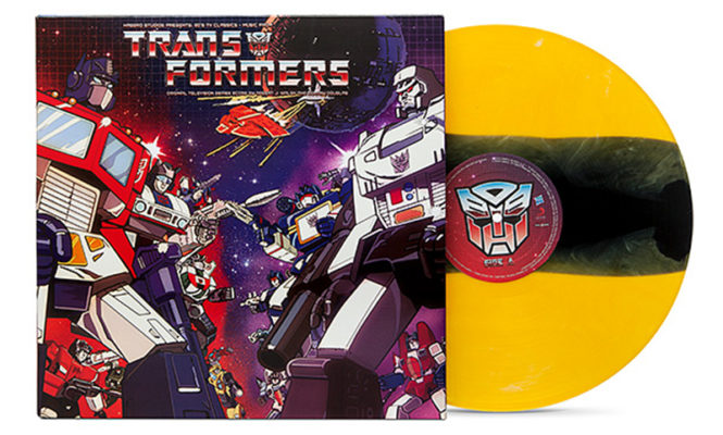 Transformers' original 1980s soundtrack released on limited coloured LP for the first time