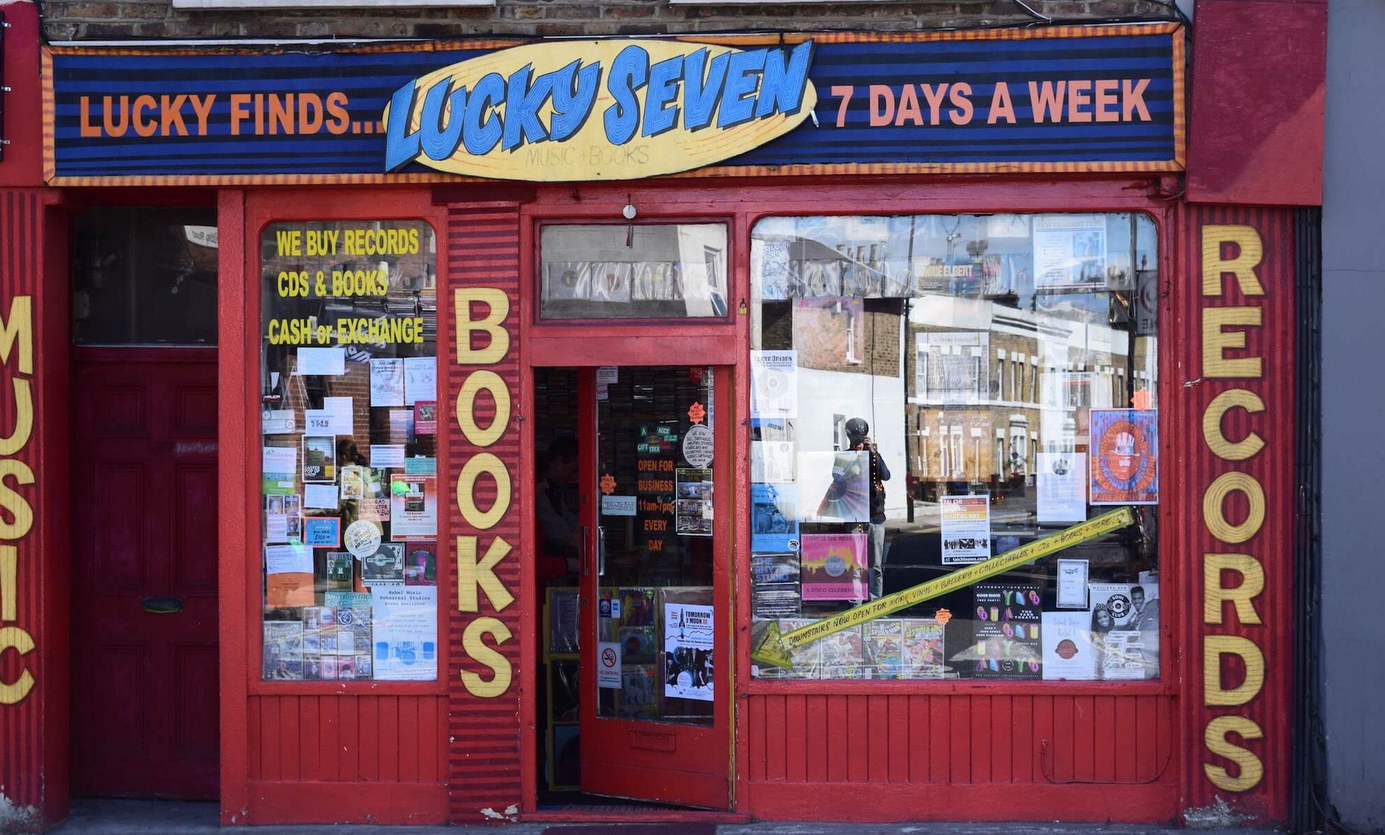 Paying homage to London's beloved Lucky Seven record shop