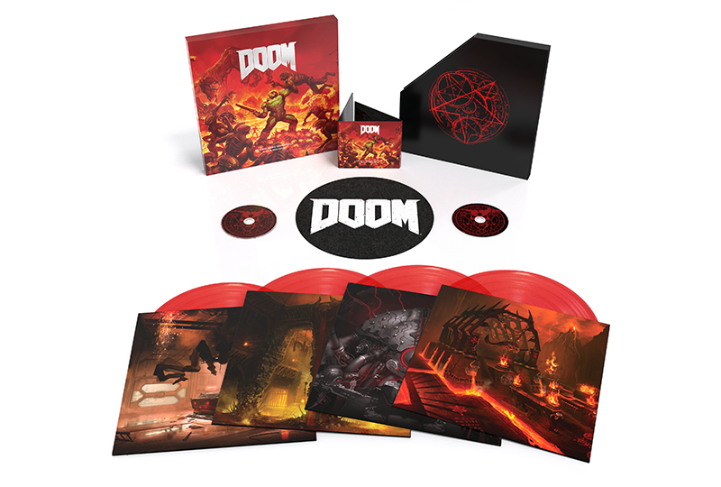 DOOM's Intense Soundtrack Comes Out on Vinyl & CD This Summer