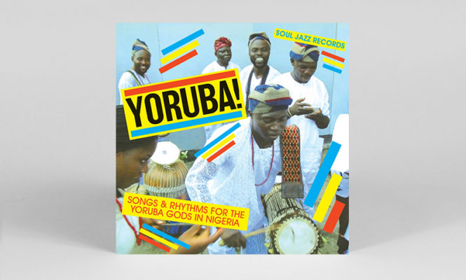 Nigerian Yoruba drum songs collected in new 2xLP Soul Jazz compilation