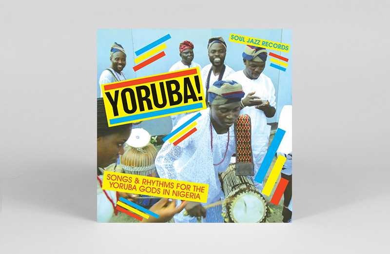 Nigerian Yoruba drum songs collected in new 2xLP Soul Jazz