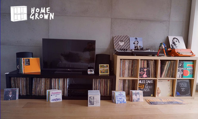Home Grown: The collector whose records are a part of his family