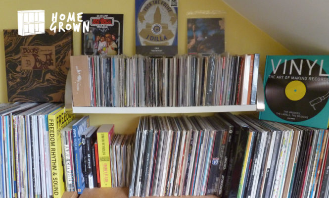 Home Grown: The collector who has been addicted to vinyl for 35 years