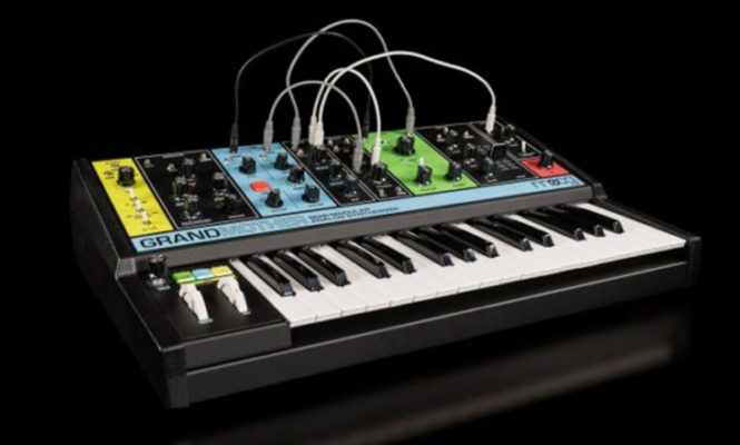 Moog reveals Grandmother, a retro-styled semi-modular analogue synth