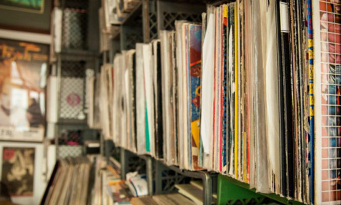 A new UK record for highest selling vinyl LP in a single week was set