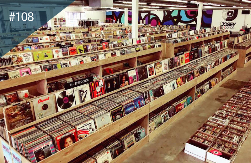the world 39 s best record shops 108 josey records dallas the vinyl factory. Black Bedroom Furniture Sets. Home Design Ideas