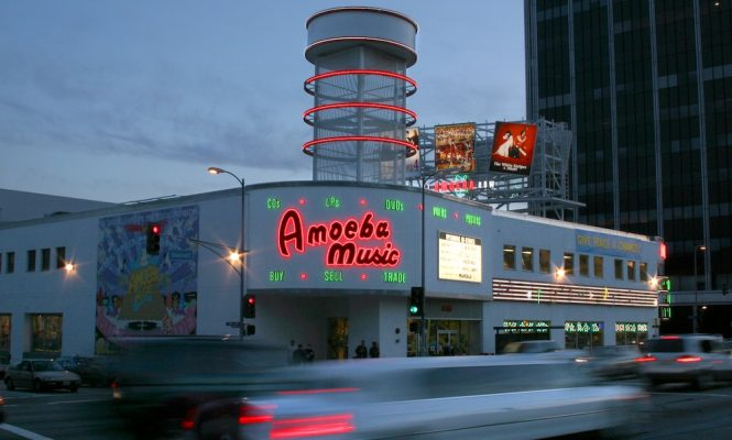 Amoeba's Hollywood record shop is relocating