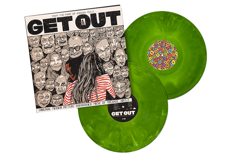 Get Out Original Soundtrack released on limited green marble