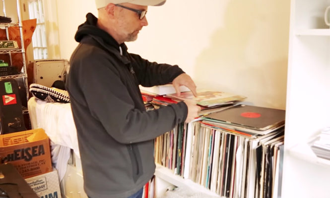 Moby is selling his entire record collection