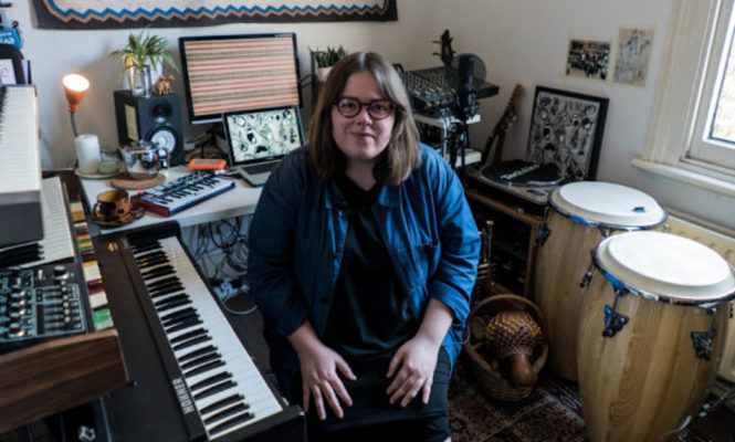 Watch Emma-Jean Thackray make a track in 10 minutes