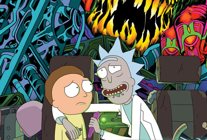 #4 Rick /& Morty Vynl