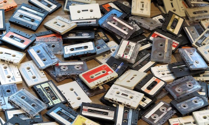 UK cassette sales grew by 90% in first half of 2018