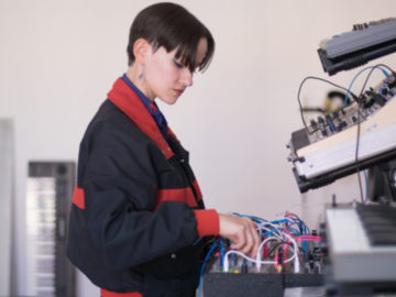Caterina Barbieri collects Buchla 200 recordings on <em>Born Again In The Voltage</em> LP